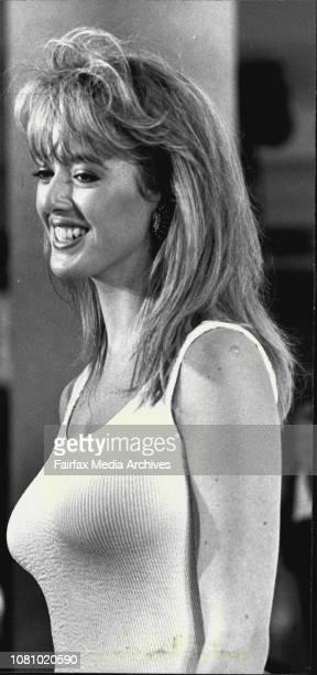 Miss James Bond QuestEntrant Jackie Mullins from Melbourne November 7 1987