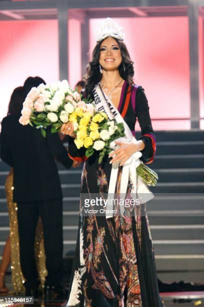 Miss Japan Riyo Mori crowned Miss Universe 2007 during Miss Universe 2007 Miss Japan Riyo Mori is Crowned Miss Universe 2007 at Auditorio Nacional in...