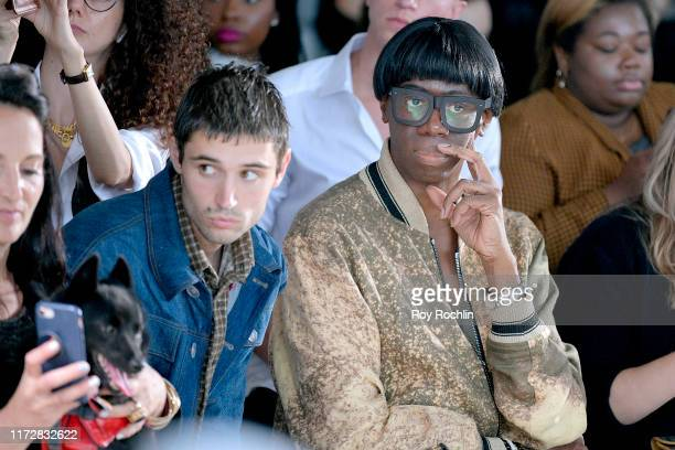 J Miss Jay Alexander attends Global Fashion Collective front row during New York Fashion Week The Shows on September 06 2019 in New York City