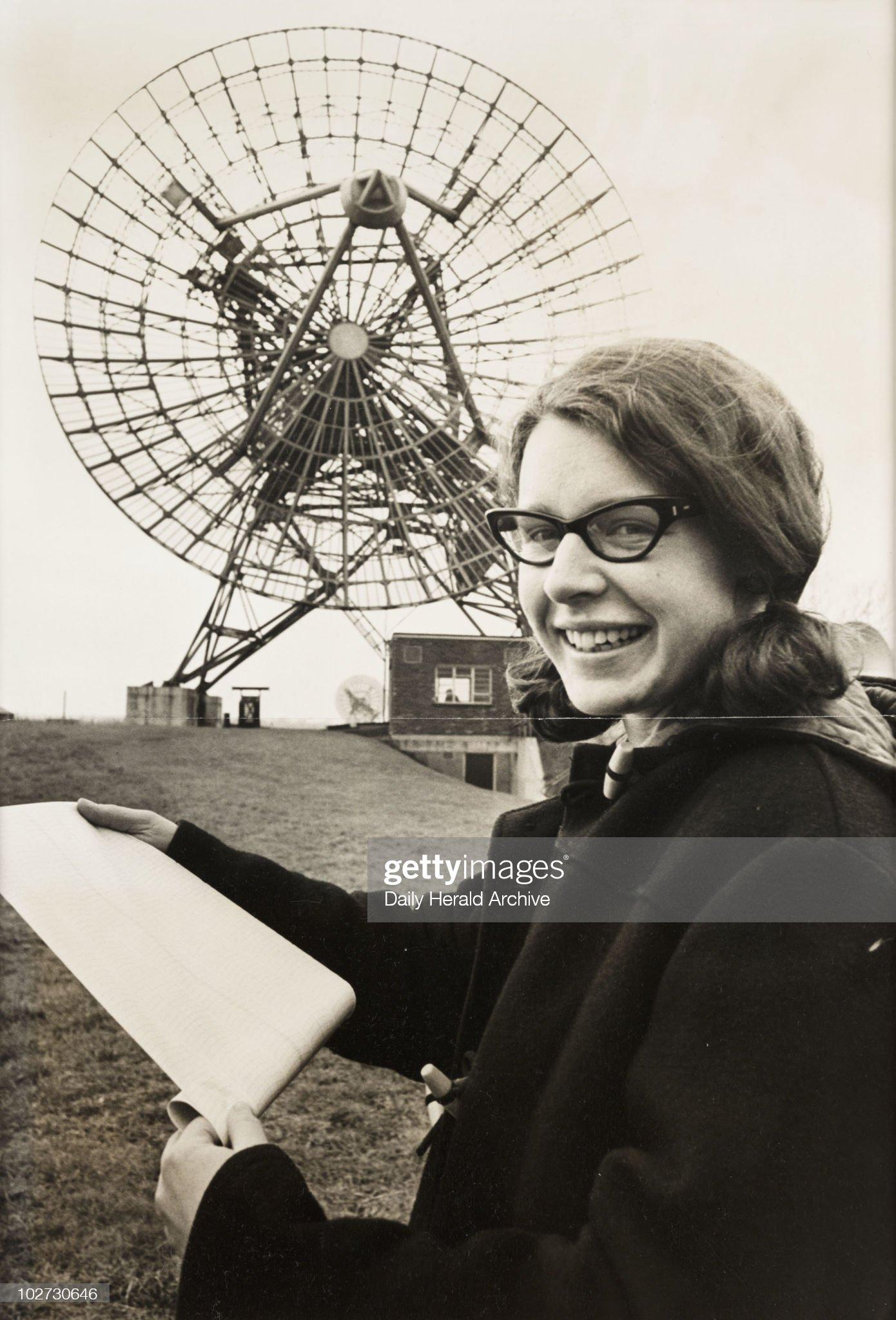 'Miss Jocelyn Bell', 1968 : News Photo