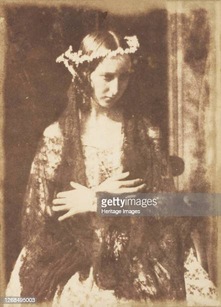Miss Kemp as Ophelia 184347 Artist David Octavius Hill Robert Adamson Hill Adamson