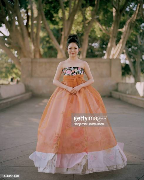 Miss Korea USA 2016 Jasmine Cho poses for a portrait in Exposition Park on January 26 2017 In 1921 the decision in the Petition of Easurk Emsen Charr...