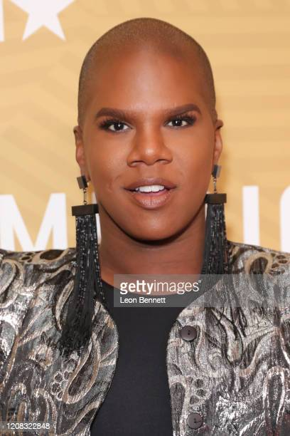 Miss Lawrence attends American Black Film Festival Honors Awards Ceremony at The Beverly Hilton Hotel on February 23, 2020 in Beverly Hills,...
