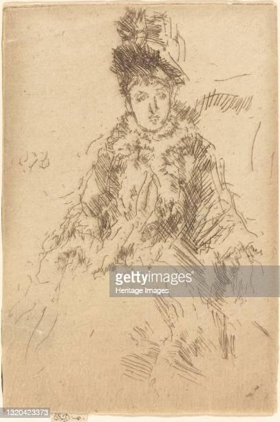 Miss Lenoir, circa 1887. Artist James Abbott McNeill Whistler.