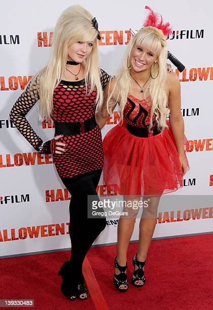 Miss Lolitas arrives at the Los Angeles Premiere of Halloween II held at Grauman's Chinese Theatre in Hollywood California on August 24 2009