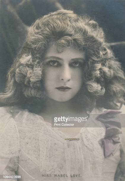 Miss Mabel Love' circa 1930 British dancer and stage actress considered a great stage beauties of her age her career spanned the late Victorian era...