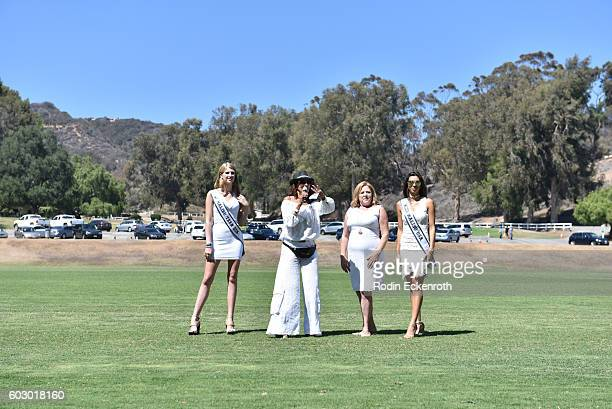 Miss Malibu Teen USA Alyena Koehler, actress/SiriusXM DJ Downtown Julie Brown, President/Director of Safety Harbor Kids and Face the Music Records,...