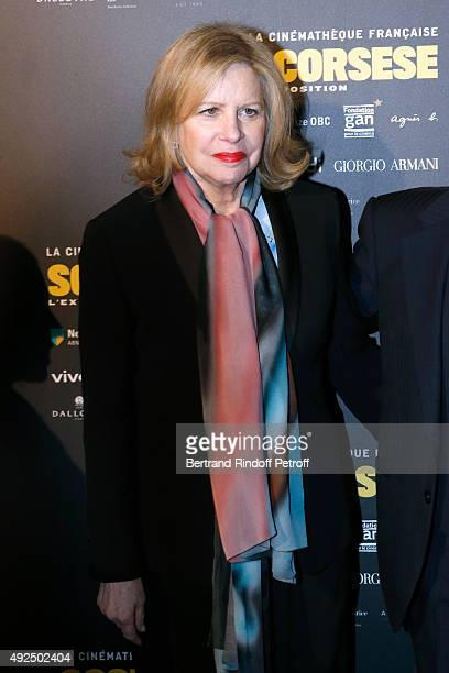 Miss Martin Scorsese Helen Morris attends the Tribute to Director Martin Scorsese at Cinematheque Francaise on October 13 2015 in Paris France