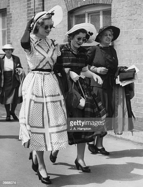 Miss Martin Smith at the royal Ascot horse race meeting in Berkshire