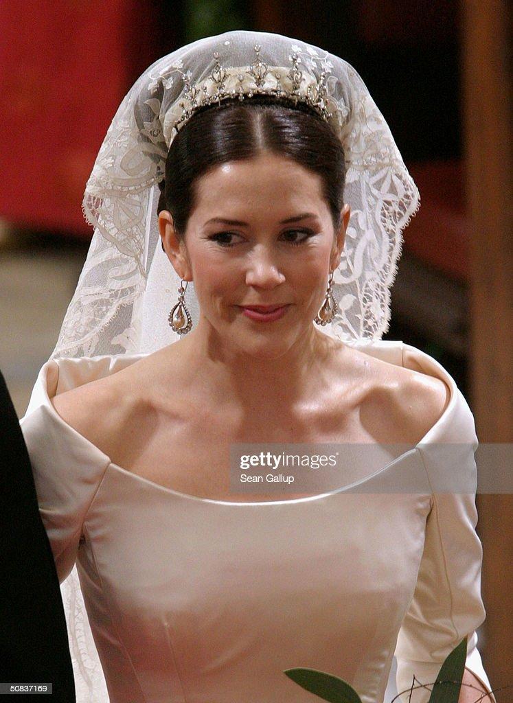 Wedding Of Danish Crown Prince Frederik & Mary Donaldson : News Photo