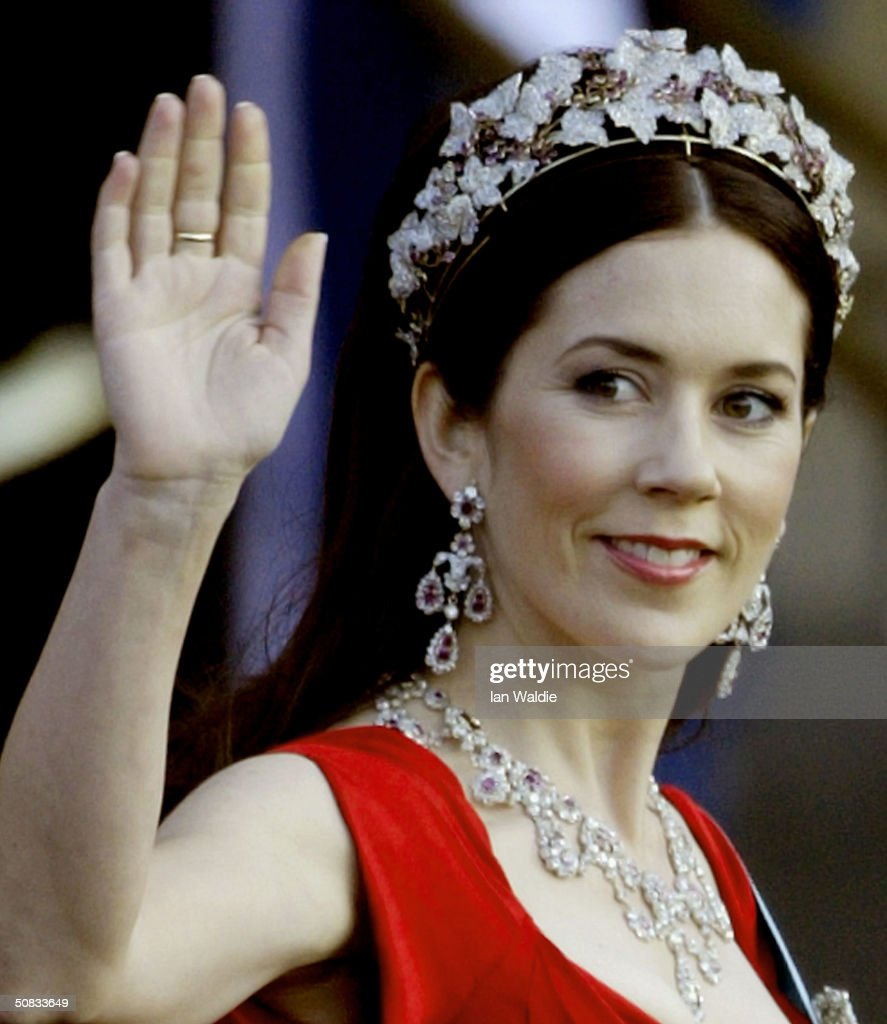 DK Gala Performance In The Royal Theatre In Preparation Of Danish Wedding : News Photo