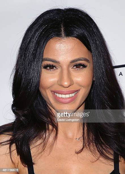 Miss Maven Teni Panosian attends the Michael Costello and Style PR Capsule Collection launch party on July 23, 2015 in Los Angeles, California.
