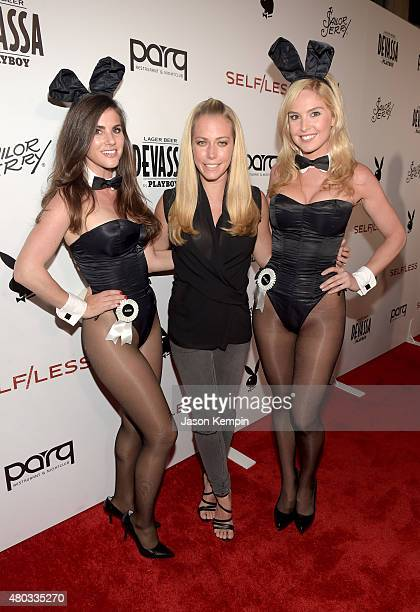 Miss May 2006 Alison Waite TV personality Kendra Wilkinson and Miss February 2008 Michelle McLaughlin attends Playboy and Gramercy Pictures'...