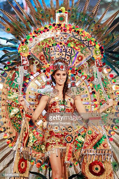 Miss Mexico Karina Gonzalez displays her national costume at the 2012 Miss Universe National Costume event at Planet Hollywood Casino Resort on...