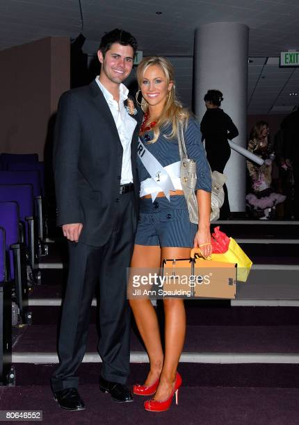 Miss Missouri Candice Crawford who is Chase Crawford's sister attends the 2008 Miss USA Competition at Planet Hollywood Resort Casino on April 11...