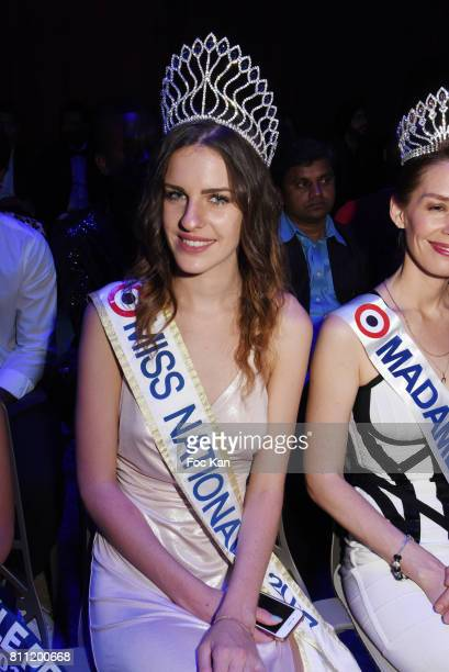 """Miss Nationale 2017 Anaelle Bagot attends the """"Paris Appreciation Awards 2017"""" At The Eiffel Tower on July 8, 2017 in Paris, France."""