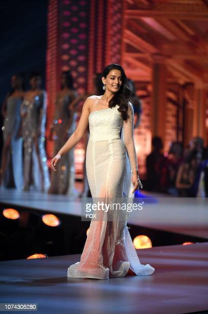 TOP 10 Miss Nepal Manita Devkota during the 2018 MISS UNIVERSE competition airing live from Bangkok Thailand on Sunday Dec 16 on FOX