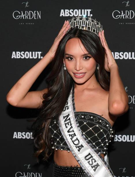 NV: The Garden Las Vegas Celebrates Miss Nevada USA 2021 Kataluna Enriquez