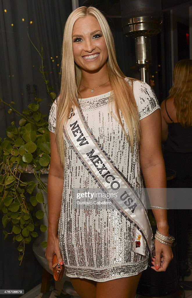 Miss New Mexico USA Kamryn Blackwood attends The Opening Drive Party at Hyde Beach on March 4, 2014 in Miami, Florida.