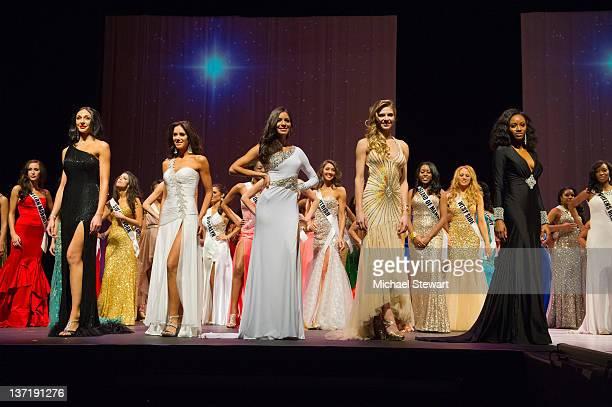 Miss New York 2012 finalists Miss Spanish Harlem Nikole Churchill Miss Big Apple Ashley Layfield Miss City of Dreams Johanna Sambucini Miss...