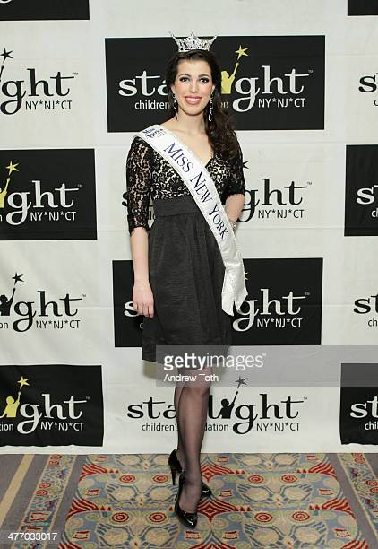 Miss New York Amanda Mason attends the 29th Annual Starlight Children's Foundation at Marriott Marquis Hotel on March 6 2014 in New York City