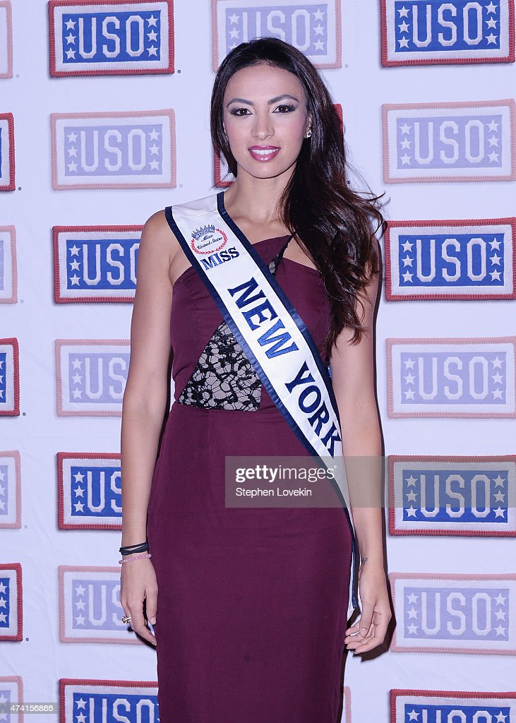 miss new york iman oubou attends the fleet week new york 2015 kick off party - Blue Cafe 2015