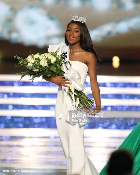 Miss New York Nia Franklin wins the 2019 Miss America Pageant held in Historic Boardwalk Hall on Sunday September 9 2018 in Atlantic City New Jersey