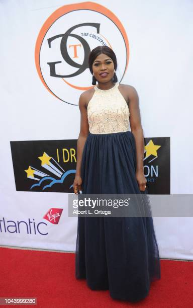 Miss Nigeria Ifeoluwa Nifemi arrives for 2nd Annual HAPAwards held at Alex Theatre on September 30 2018 in Glendale California