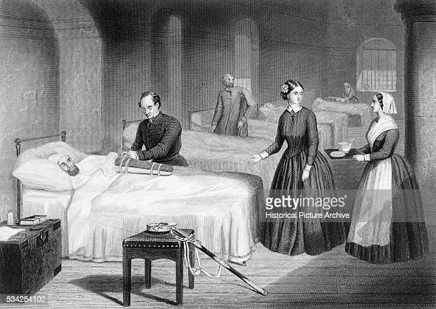 Miss Nightingale in the Hospital at Scutari