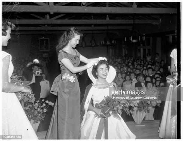 Miss Nisei 18 August 1951 Aiko Ogomori Sachi Kazumoga [Kazunaga]Florence WadaTazuko YamamotoKiku FujiharaFlorence WadaSusie YamashitaMore descriptive...