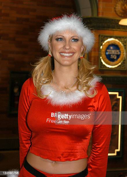 Miss November 2003, Divini Rae during Playboy Playmates and Braun Freeglider Host Pre-Holiday Personal Shave Session In Times Square at Times Square...