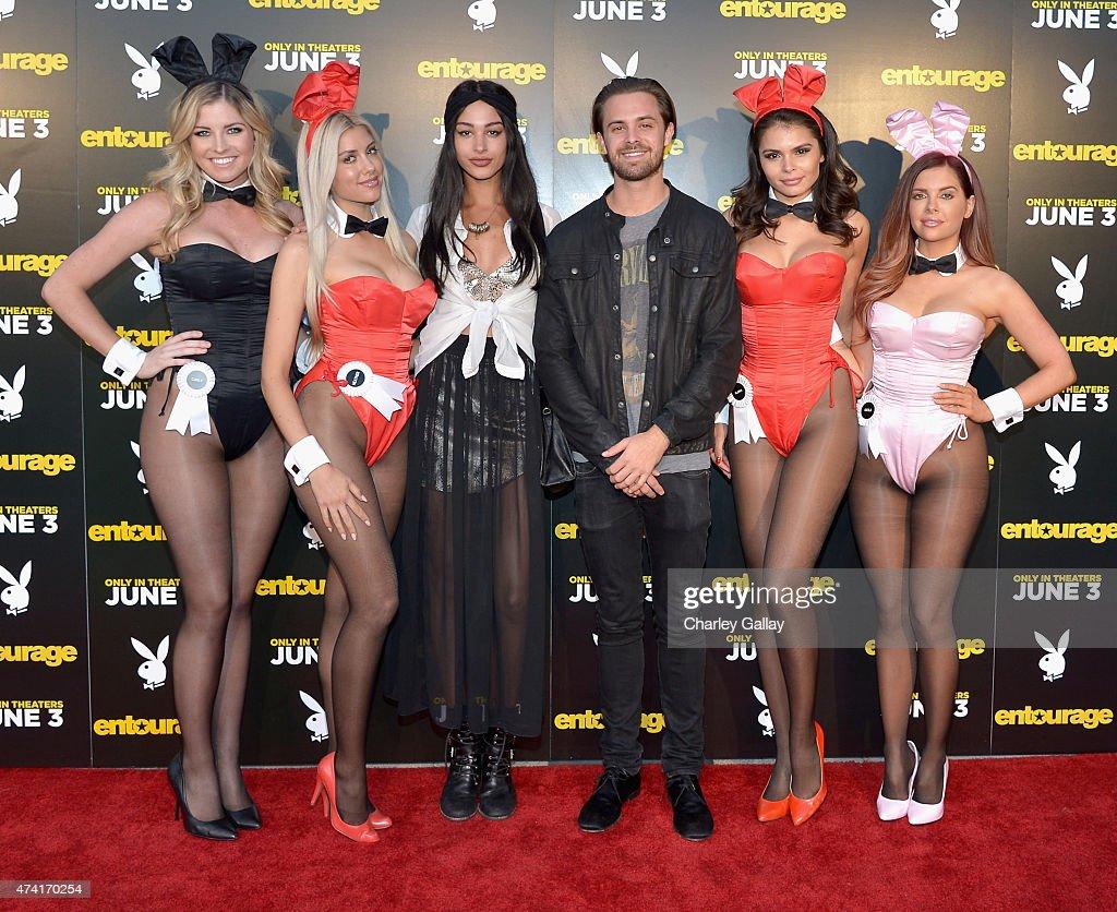 """Entourage"" Advance Screening At The Playboy Mansion"