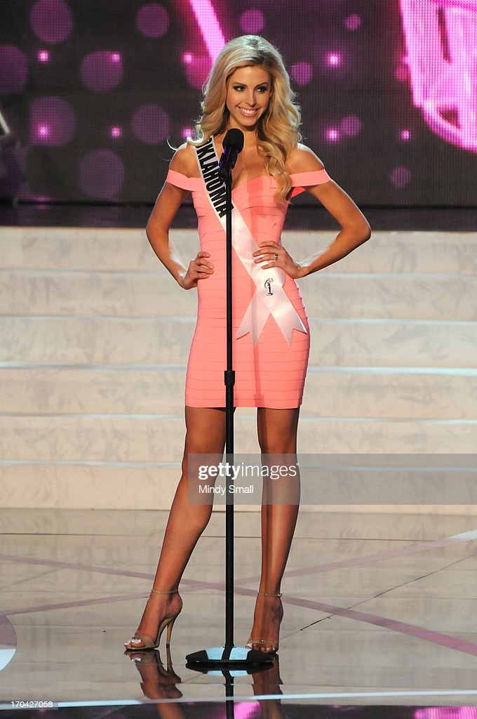 Miss Oklahoma USA Makenzie Muse appears at the 2013 Miss USA preliminary competition at PH Live at Planet Hollywood Resort & Casino on June 12, 2013 in Las Vegas, Nevada.
