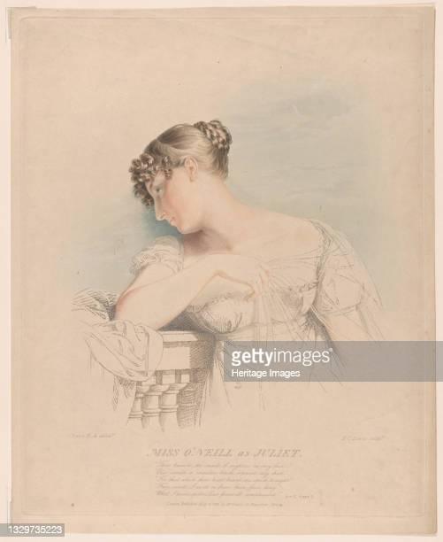 Miss O'Neill as Juliet, May 30, 1816. Artist Frederick Christian Lewis.