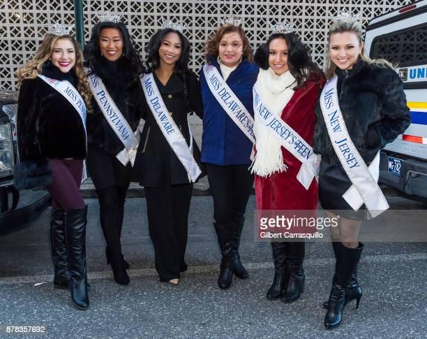 Miss Pennsylvania's Outstanding Teen Madison Dompkosky, Miss Pennsylvania Katie Schreckengast, Miss Delaware Chelsea Bruce, Miss Delaware's...