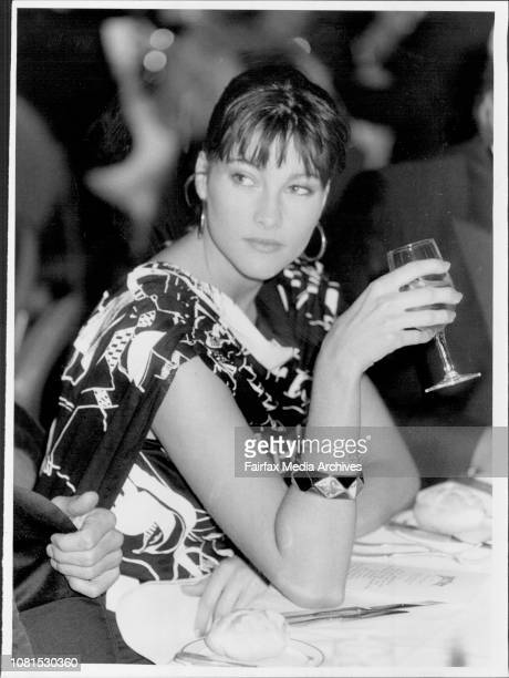 Miss Perrier Quest at Hilton HotelCarmen Loderus September 03 1985