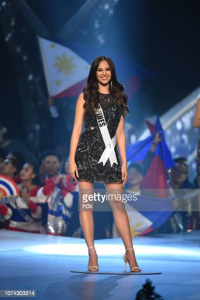 TOP 10 Miss Philippines Catriona Gray during the 2018 MISS UNIVERSE competition airing live from Bangkok Thailand on Sunday Dec 16 on FOX