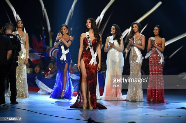 TOP 5 Miss Philippines Catriona Gray during the 2018 MISS UNIVERSE competition airing live from Bangkok Thailand on Sunday Dec 16 on FOX