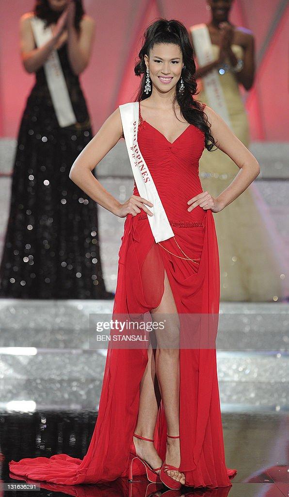 Miss Philippines, Gwendoline Gaelle Sand : News Photo