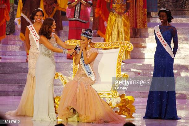 Miss Philippines Megan Young is crowned Miss World during Miss World 2013 on September 28 2013 in Nusa Dua Indonesia