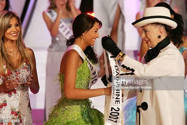 Miss Picardie Rachel LegrainTrapani is Miss France 2007 and Genevieve de Fontenay
