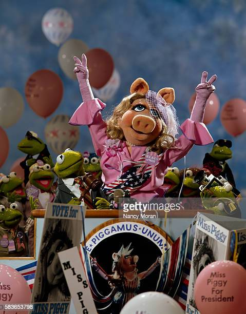 Miss Piggy stars in the television program The Muppet Show created and produced by Jim Henson