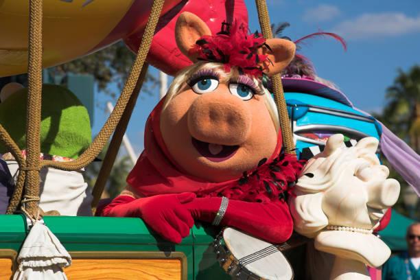 Miss Piggy, The Muppets, Disney Stars and Motor Cars Parade, Disney MGM Studios, Disney World, Orlando, Florida, USA