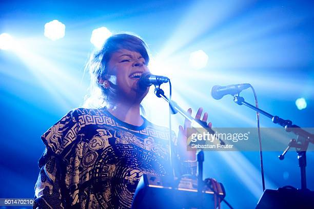 Miss Platnum performs at Postbahnhof on December 15 2015 in Berlin Germany
