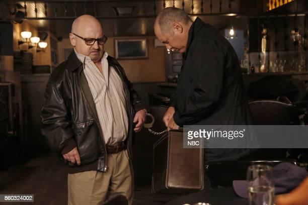 THE BLACKLIST 'Miss Rebecca Thrall' Episode 503 Pictured Clark Middleton as Glen Carter James Spader as Raymond 'Red' Reddington
