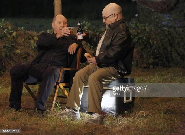 THE BLACKLIST 'Miss Rebecca Thrall' Episode 503 Pictured James Spader as Raymond 'Red' Reddington Clark Middleton as Glen Carter