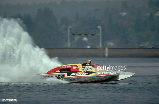miss rock hydroplane racing - hydroplane racing stock pictures, royalty-free photos & images