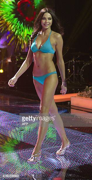 Miss Russia 2014 Yulia Alipova takes part in a bikini parade during the Miss Russia 2014 beauty contest in Moscow early on March 2 2014 23yearold...
