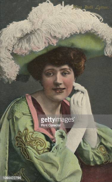 Miss Ruth Lytton' circa 1930 English stage theatre and music hall actress Artist Unknown