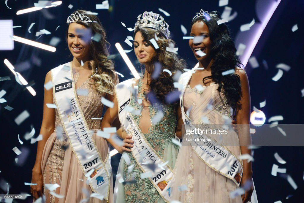 Miss South Africa 2017 Beauty Pageant : News Photo